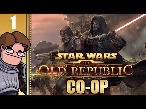 Let's Play Star Wars: The Old Republic Co-op Part 1 – A Jedi Adventure With Wanderbot