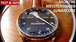 [TEST #21] Montre MeisterSinger Lunascope : on a décroché la Lune