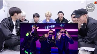 BTS reaction to Soltera Remix - Lunay X Daddy Yankee X Bad Bunny ( Video Oficial )