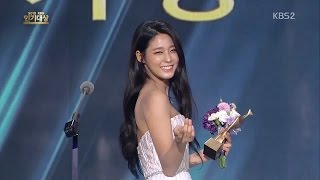 Video 151231 AoA Seolhyun (설현) KBS 연기대상 Award cut download MP3, 3GP, MP4, WEBM, AVI, FLV Maret 2018