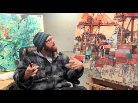 PortArt - Vancouver Artist Paints the Port - Assemblage