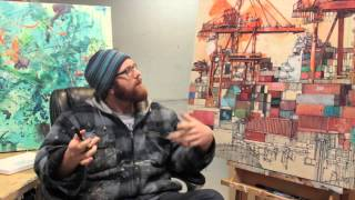 PortArt - Vancouver Artist Paints the Port - Assemblage