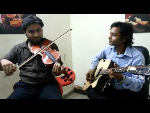 tu hi to meri dost hai by Azhar khan on violin