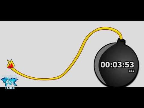 4 minutes Countdown Timer Alarm Clock