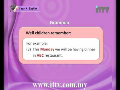 iTTV UPSR Year 4 English #1 Healthy Eating (Proper Nouns and Common Nouns) -Tuition/Lesson/Exam/Tips
