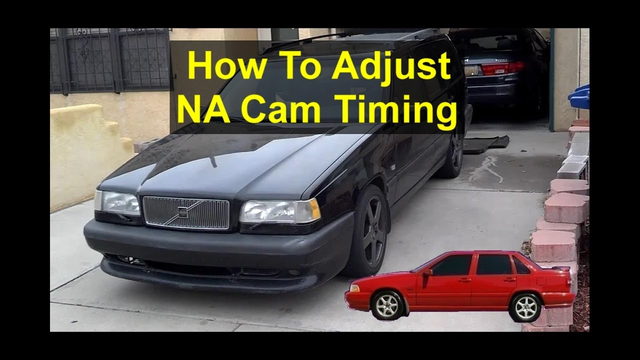 2007 Volvo Xc70 Wiring Diagram How To Adjust The Timing With The Tool For Na Cams Volvo
