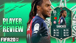 FIFA 20 SHAPESHIFTER SANCHES 86 PLAYER REVIEW