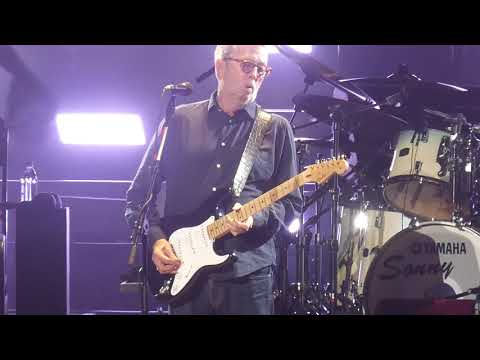 """Cocaine"" Eric Clapton@Madison Square Garden New York 10/7/18"