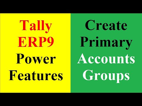 5 Primary Account Group