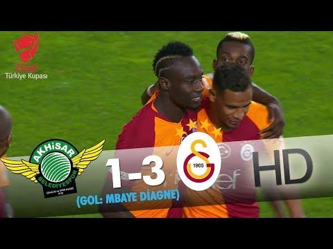 Akhisarspor: 1 - Galatasaray: 3 | Gol: Mbaye Diagne