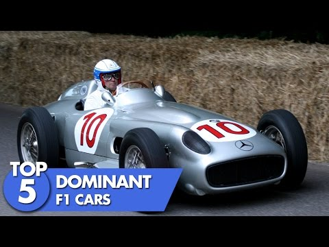 Top 5 Dominant F1 Cars