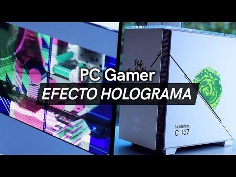 EP12: ¡Mi nuevo PC! Mod de Rick y Morty con pantalla LCD efecto Holograma