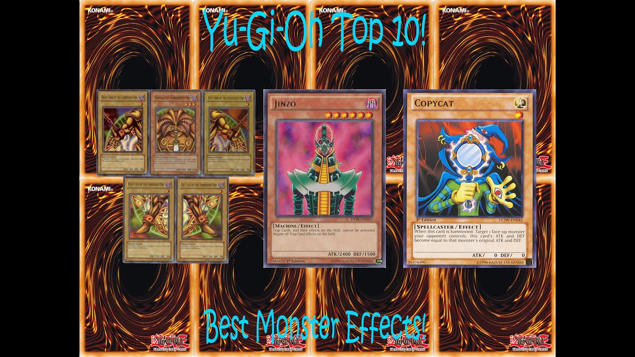 10 Awesome Effect monsters in Yu-Gi-Oh!! - YouTube