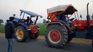 New Holland 4710 vs swaraj 855 tractor tochan