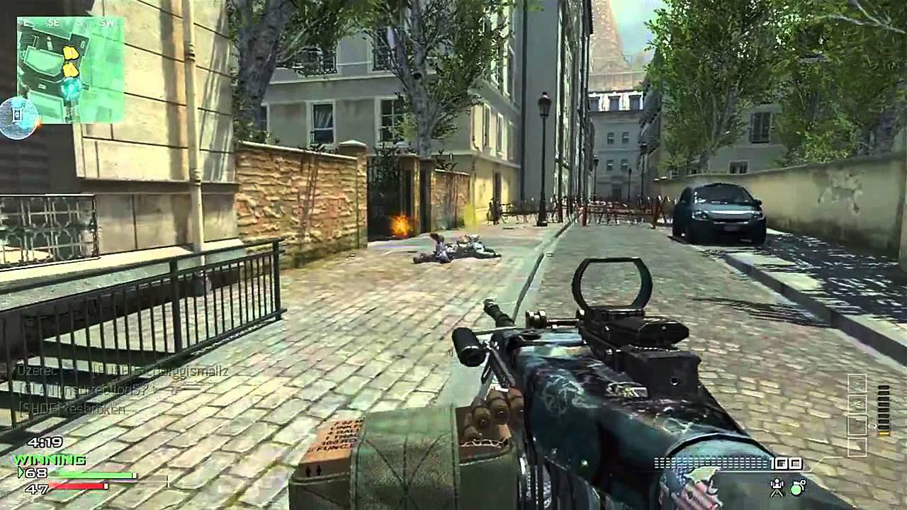 MW3 - MW3: M60E4 (M60) Light Machine Gun Gameplay | AH-6 ...