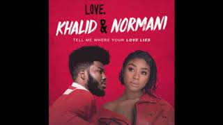 Love Lies - Khalid & Normani (Official Audio)