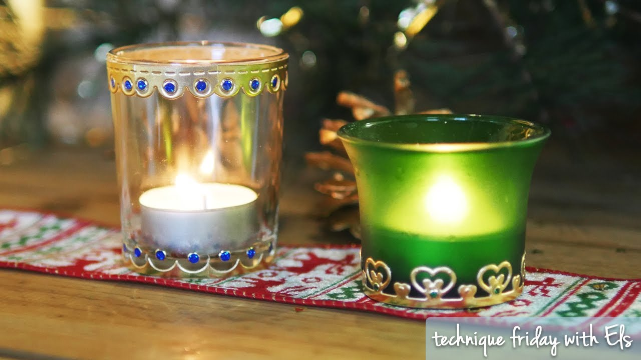 Diy Votive Candle Holders Technique