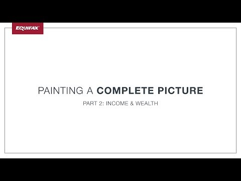Painting a Complete Picture - Part 2: Income and Wealth