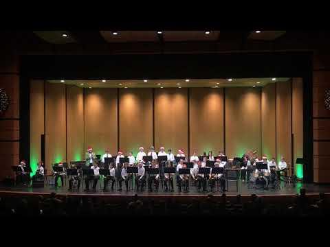 Baldwin Street Middle School Jazz Band, 12-5-19