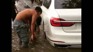 Cars Stall in Ho Chi Minh City as Streets Flood