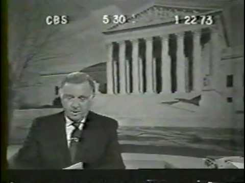 1973 CBS Evening News with Walter Cronkite (1/22/73)