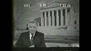 1973 CBS Evening News with Walter Cronkite (1/22/73)