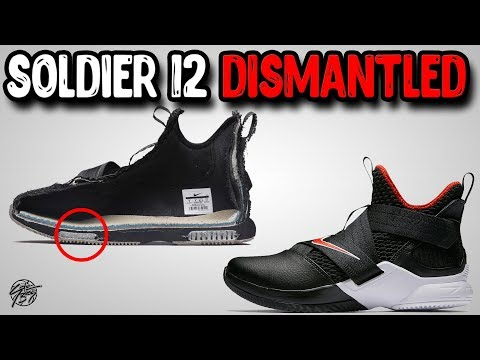 Nike Lebron Soldier 12 Dismantled!