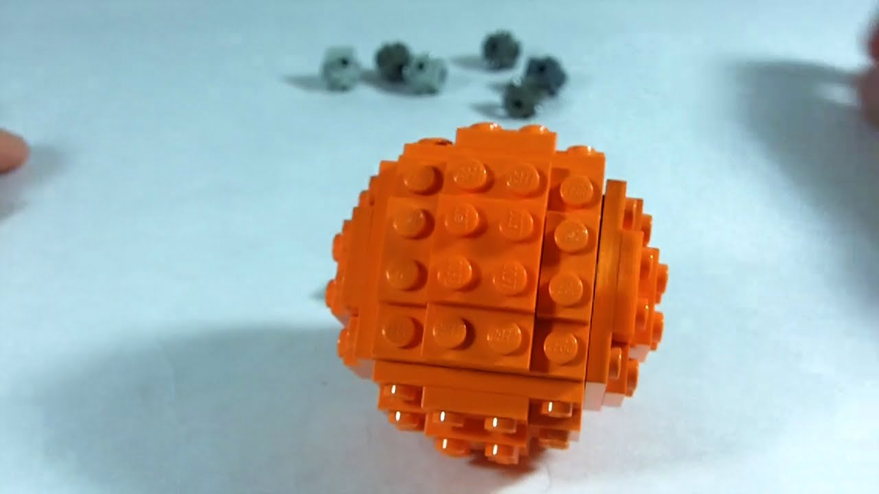 How to build lego sphere ball youtube