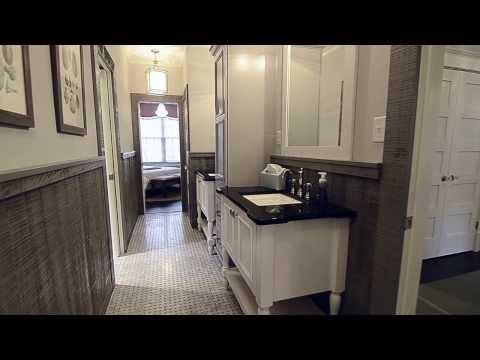 Southern Living Showcase Home Jack and Jill Bathroom