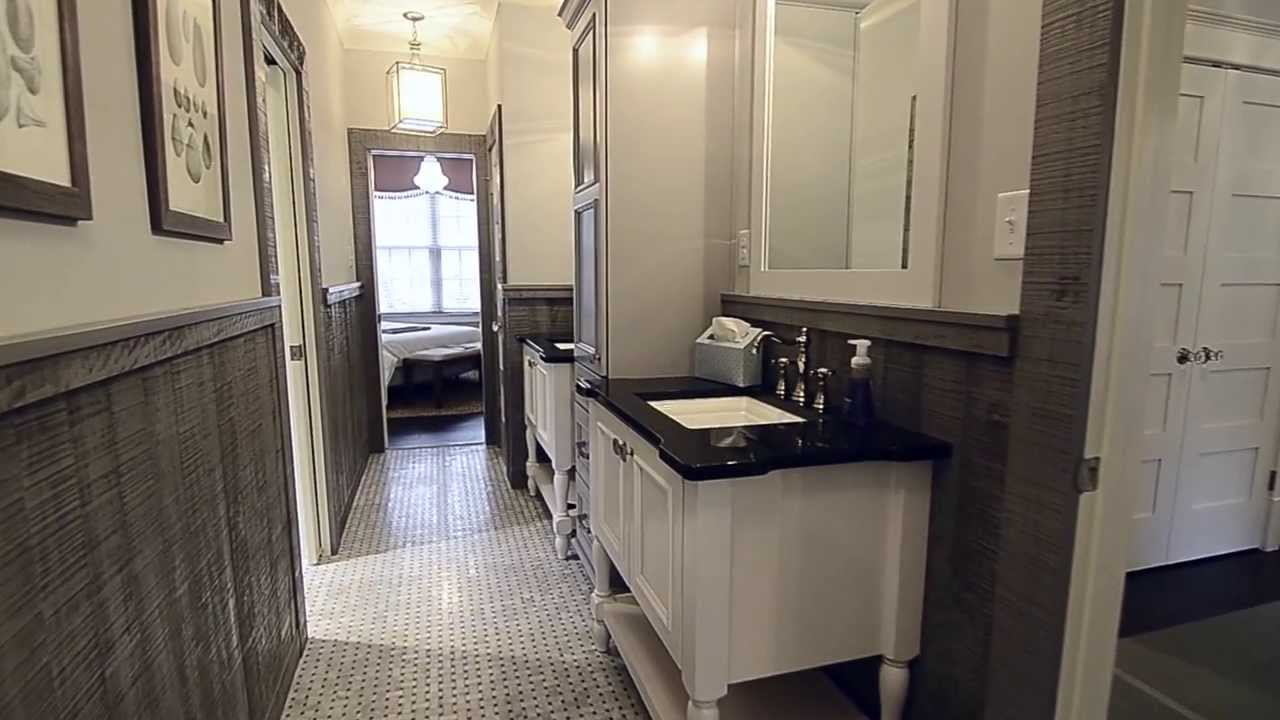 Southern living showcase home jack and jill bathroom youtube - Jack and jill style bathroom ...