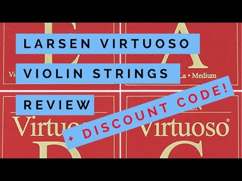 Larsen Virtuoso Violin String Review, Test and Discount Code