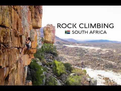 The Rock Climbing Experience in South Africa