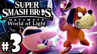Super Smash Bros Ultimate - World of Light PART 3 - Switch Gameplay Walkthrough: Viridi & Duck Hunt