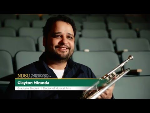Clayton Miranda, Doctor of Musical Arts student, NDSU Challey School of Music