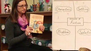 first grade focus lesson 1 ccss rl 1 3 key details of story elements