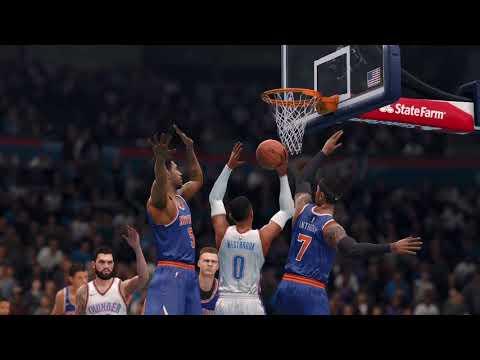 NBA LIVE 18 GAMEPLAY - NBA Live 18 New York Knicks Franchise - Season Opener Episode 2