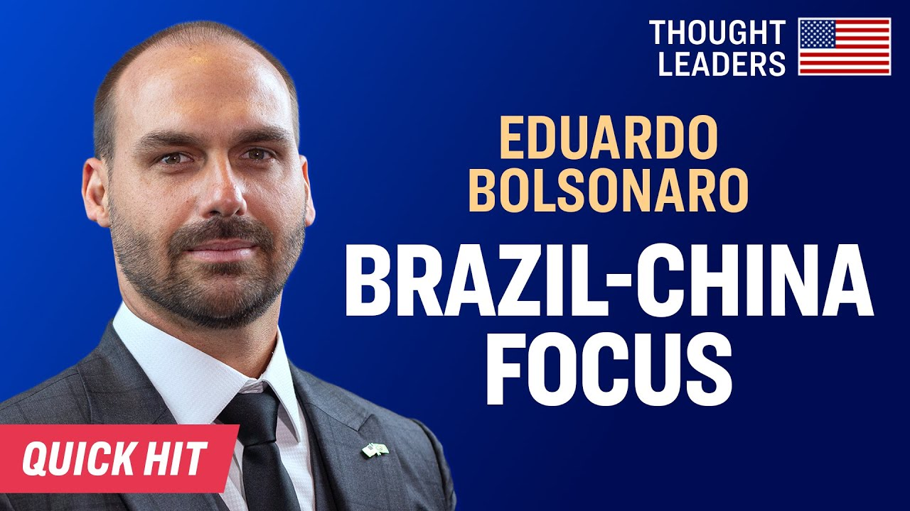 Brazil's Response to Coronavirus, Huawei, & Phase One China Trade Deal—Eduardo Bolsonaro [CPAC 2