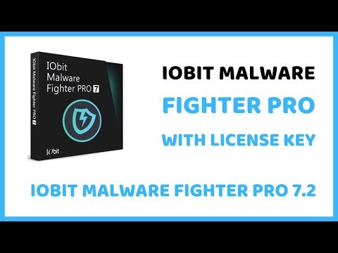 Latest Iobit Malware Fighter Pro Version 7.2 With License Key Latest Version 2019