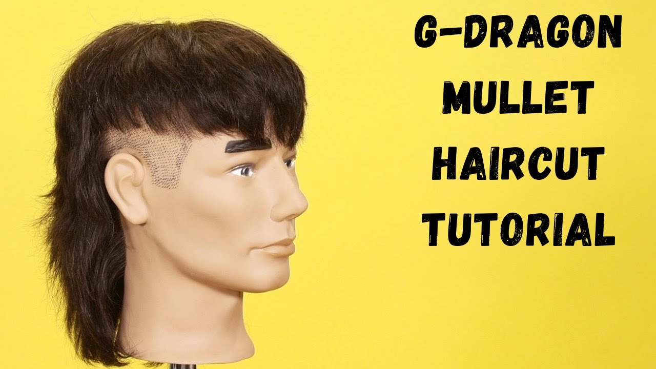 G-Dragon Haircut Tutorial - TheSalonGuy