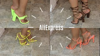 2019 Aliexpress SHOE HAUL | Trendy & Affordable