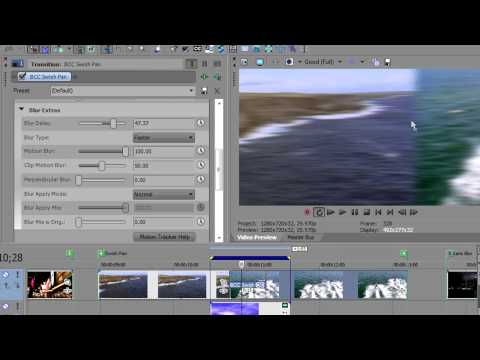 Create In-Camera Transition Effects in Sony Vegas Pro