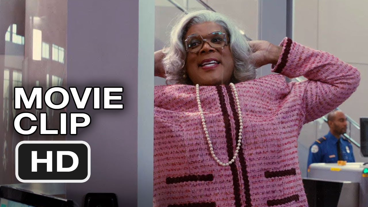 Madeas Witness Protection Clip  Pat Down  Tyler Perry Movie Hd Youtube