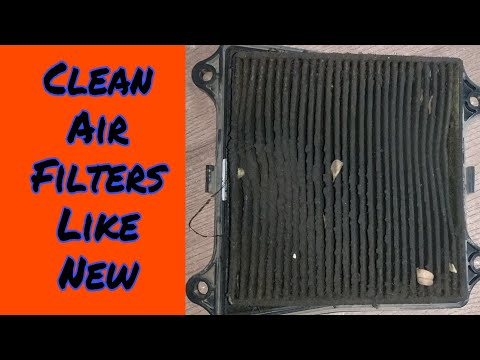 Clean Air Filters Like New