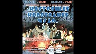 """Театрально цирковое представление  """"Настоящее новогоднее чудо"""""""