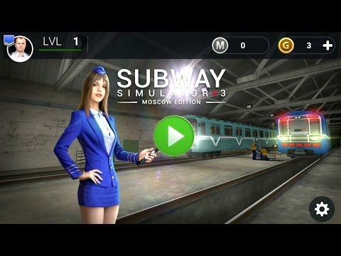 Subway Simulator 3 - Moscow | by Simulators Live | simulation | Android Gameplay HD