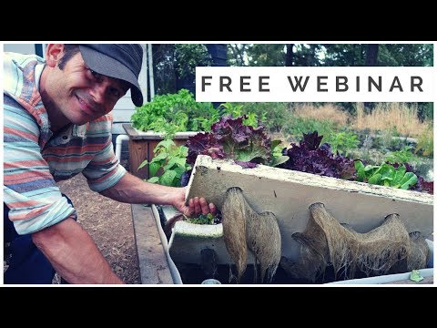 Free Webinar - Closed Loop Aquaponics Combining the Sciences