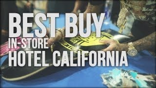 Tyga - Hotel California Release Best Buy In-Store Appearance [Compton]