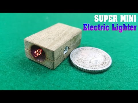 How to make Electric Lighter Super Mini simple