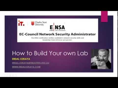 How to build Your Own Lab: Free Short Course - Network Security Administrator (ENSA) Certification