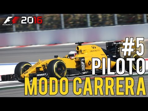 """GP RUSIA,Maldito Safety Car!"" F1 2016 Modo Carrera Profesional #5"